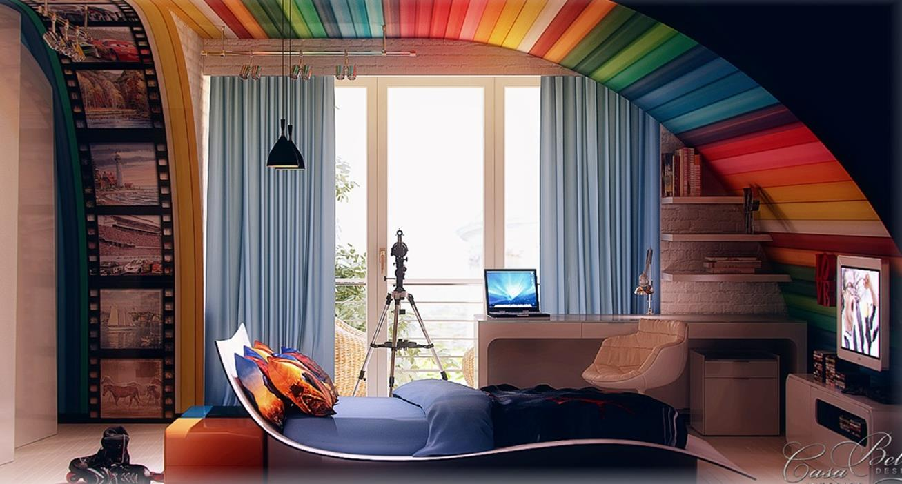 Color Full Kids Room Decorating Ideas On A Budget 35