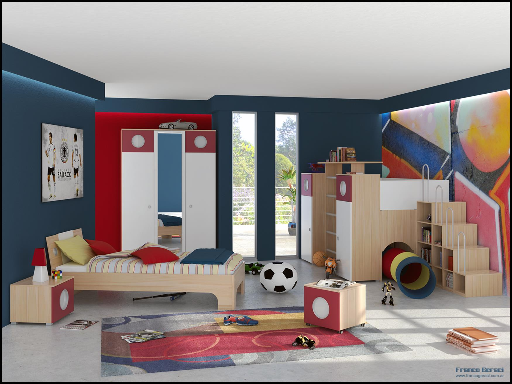 Color Full Kids Room Decorating Ideas On A Budget 5