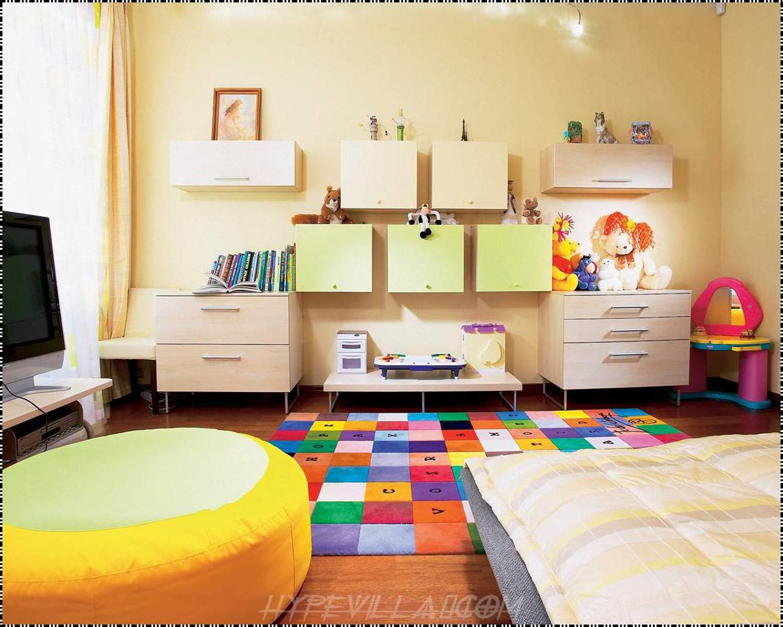 Color Full Kids Room Decorating Ideas On A Budget 6