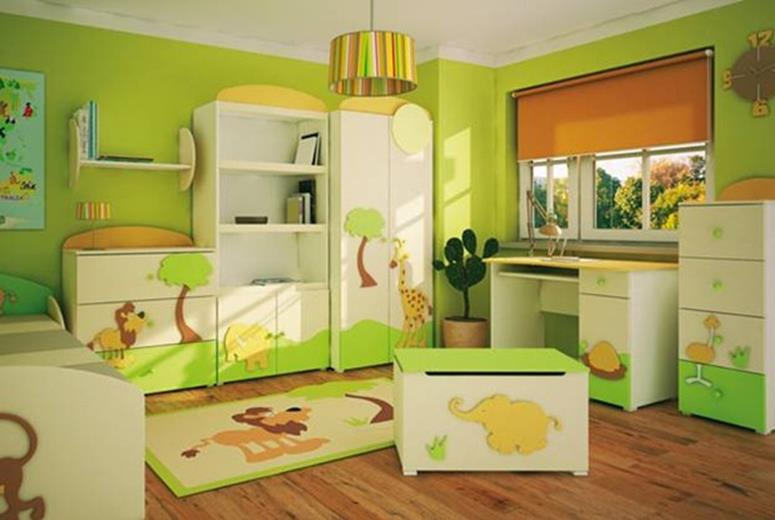 Color Full Kids Room Decorating Ideas On A Budget 8