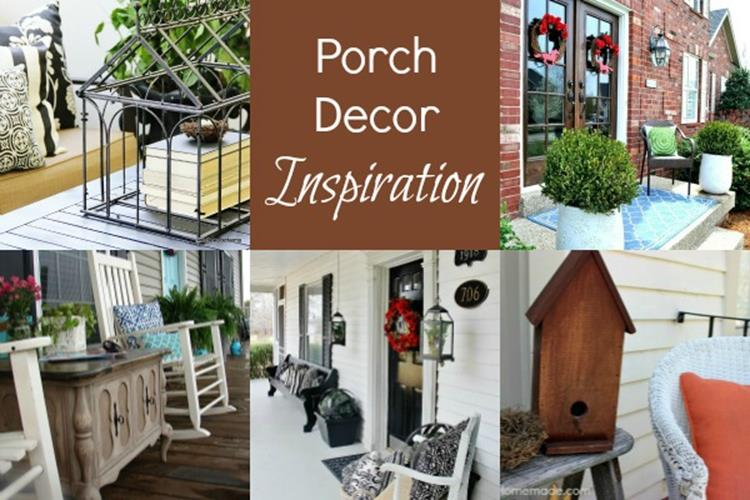 Country Front Porch Spring Decorating Ideas 37