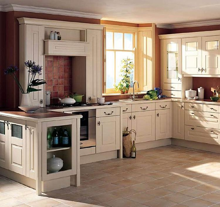 Country Style Kitchen Cabinets Design Ideas 15