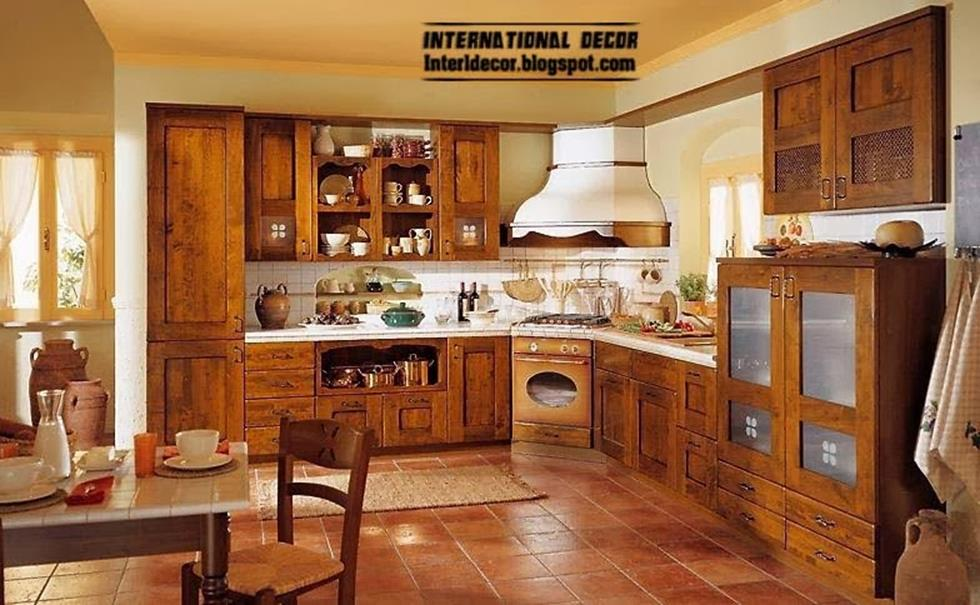 Country Style Kitchen Cabinets Design Ideas 22