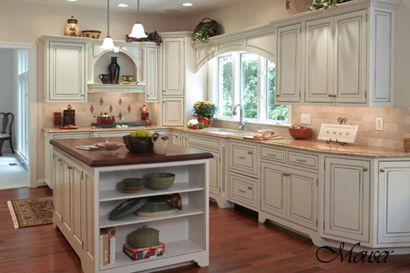 Country Style Kitchen Cabinets Design Ideas 25
