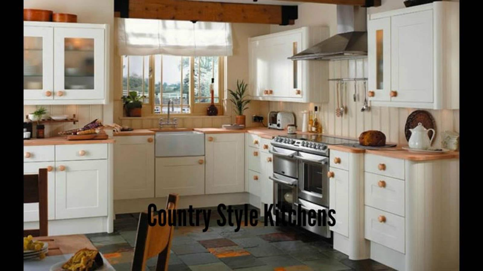 Country Style Kitchen Cabinets Design Ideas 29