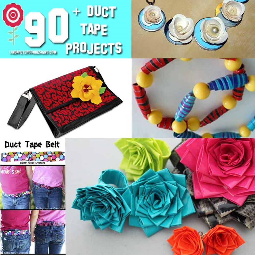 DIY Easy Crafts With Duct Tape 20