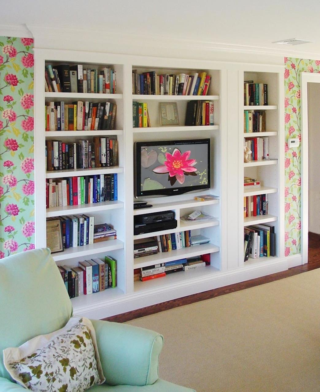 Diy Bookcase Ideas Decorating Ideas 1