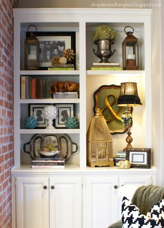 Diy Bookcase Ideas Decorating Ideas 36