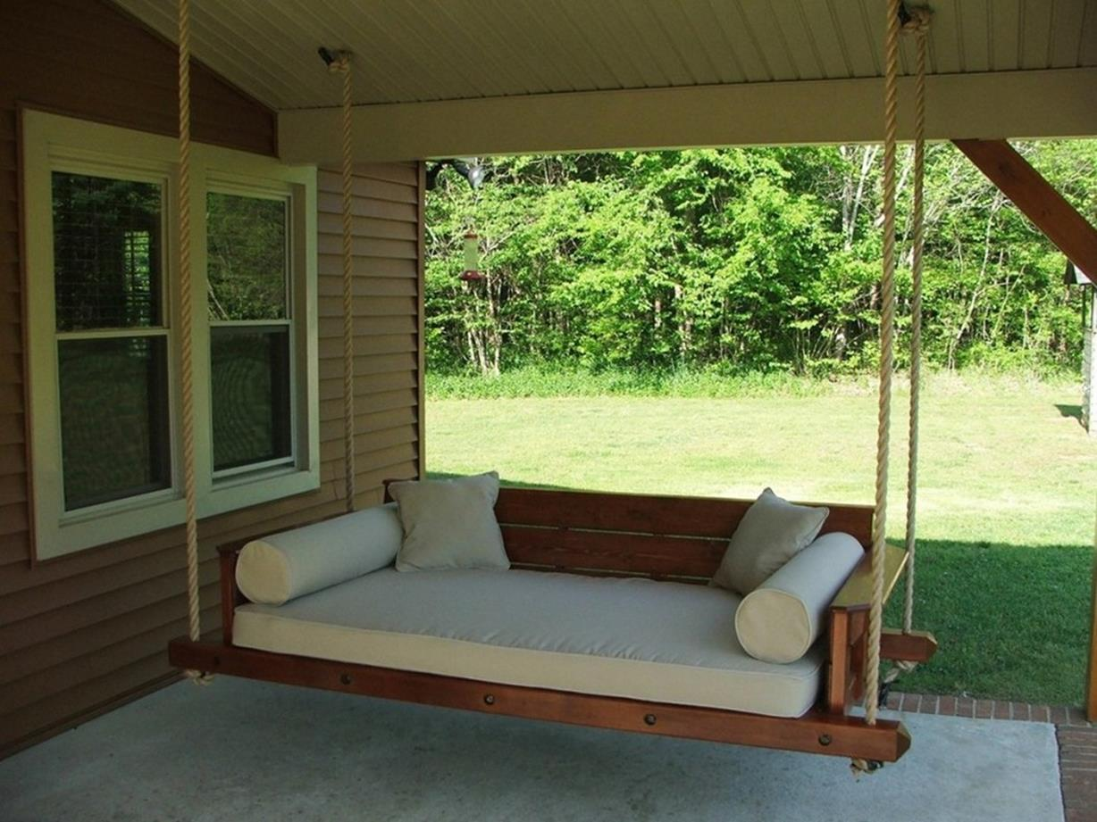 Diy Porch Swing Bed Ideas On A Budget 3