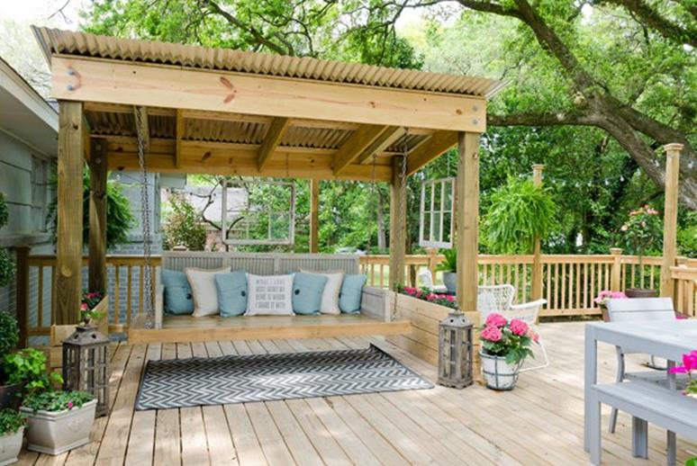 Diy Porch Swing Bed Ideas On A Budget 35