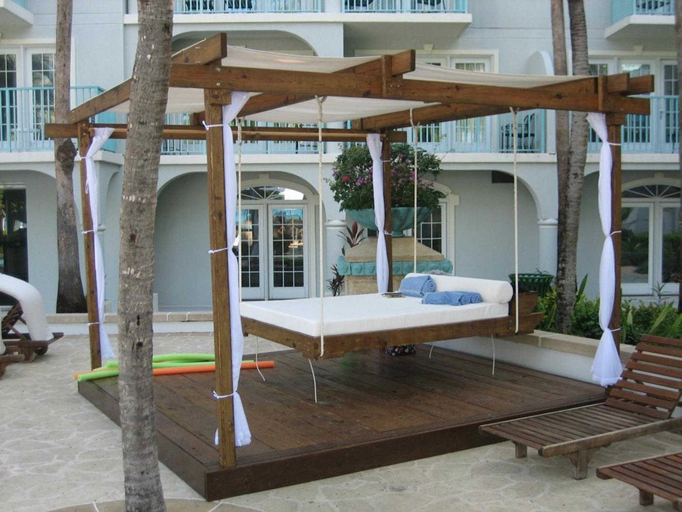 Diy Porch Swing Bed Ideas On A Budget 4