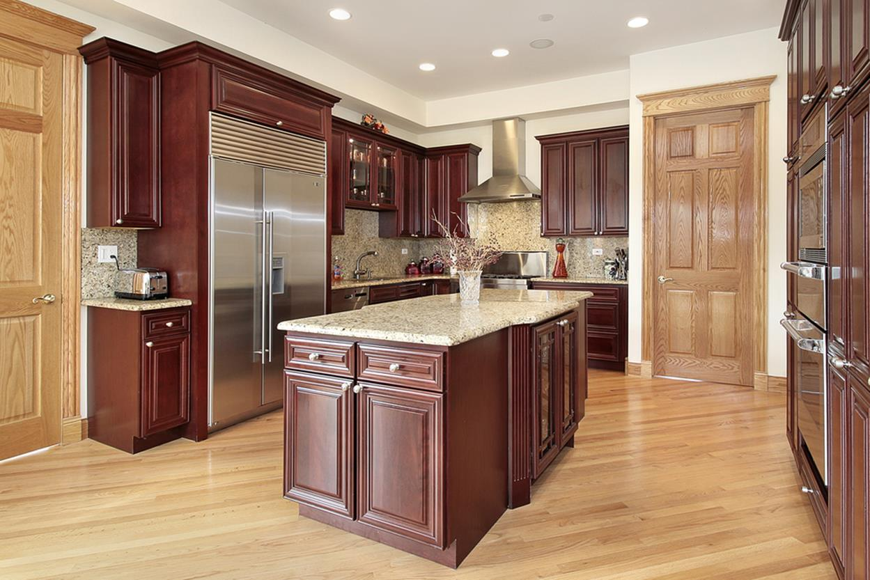 Kitchen Cabinets And Flooring Combinations 1