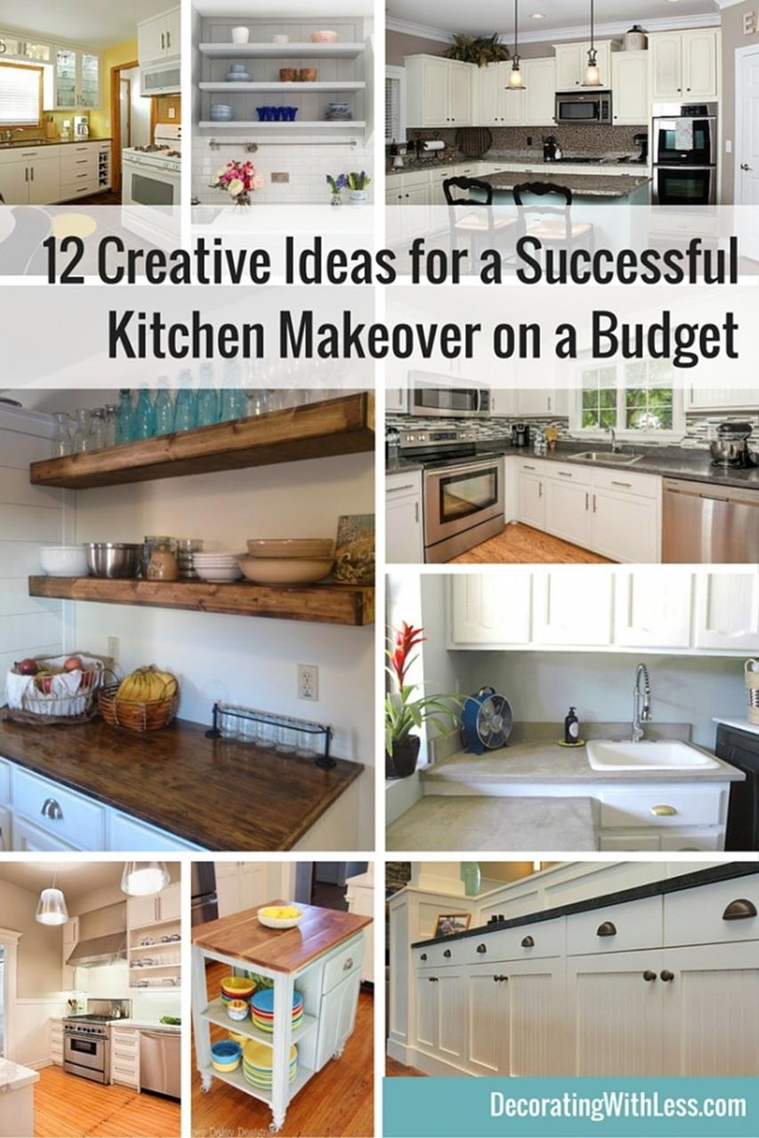 Kitchen Makeover Ideas On A Budget 4