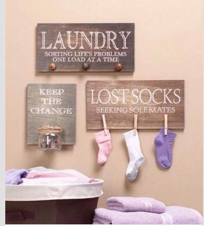 Laundry Room Accessories Decorations Ideas 13