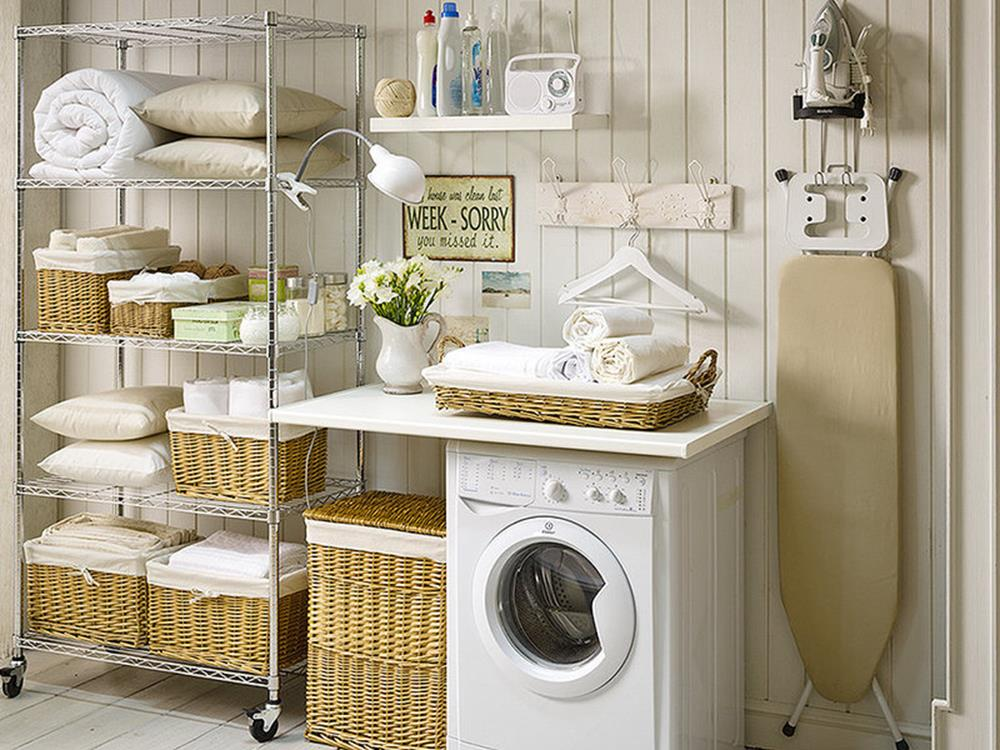 Laundry Room Accessories Decorations Ideas 22