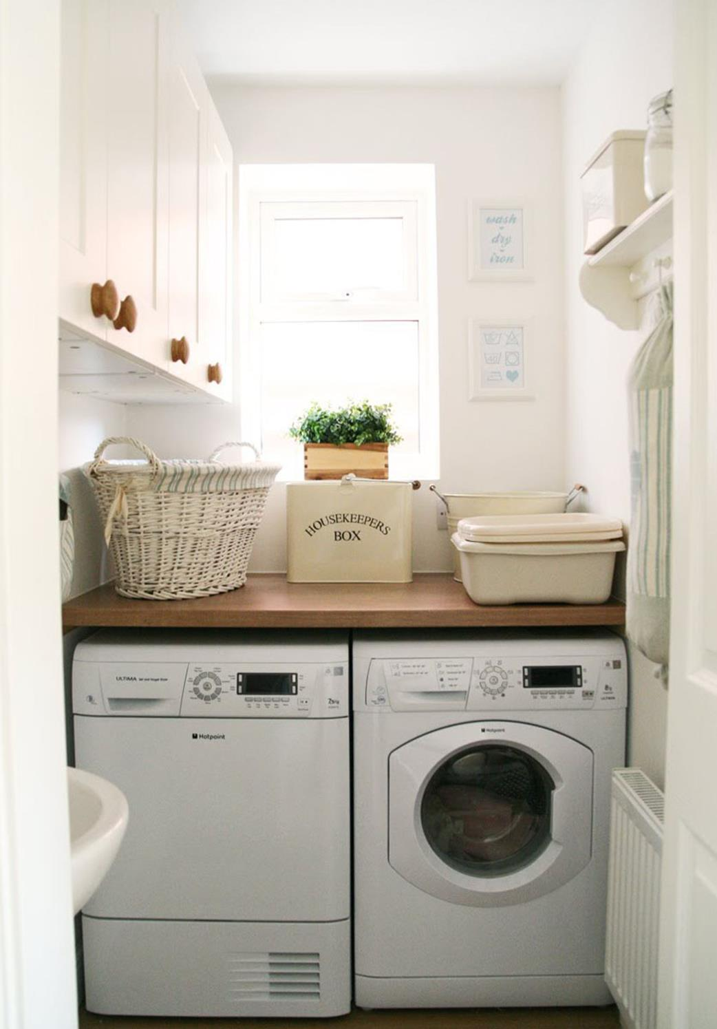 Laundry Room Accessories Decorations Ideas 23