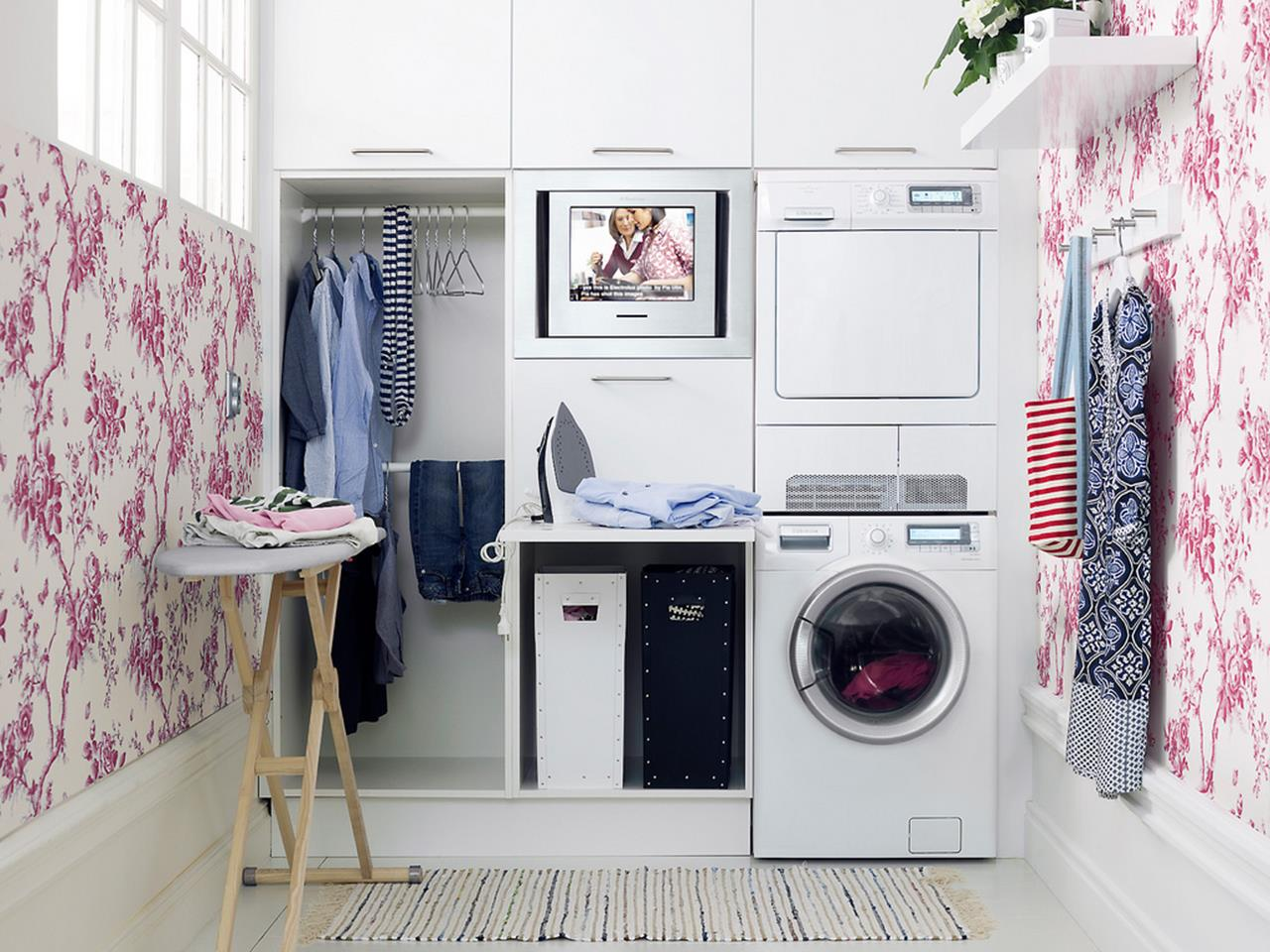 Laundry Room Accessories Decorations Ideas 26