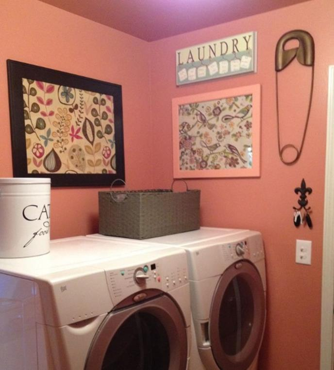 Laundry Room Accessories Decorations Ideas 30
