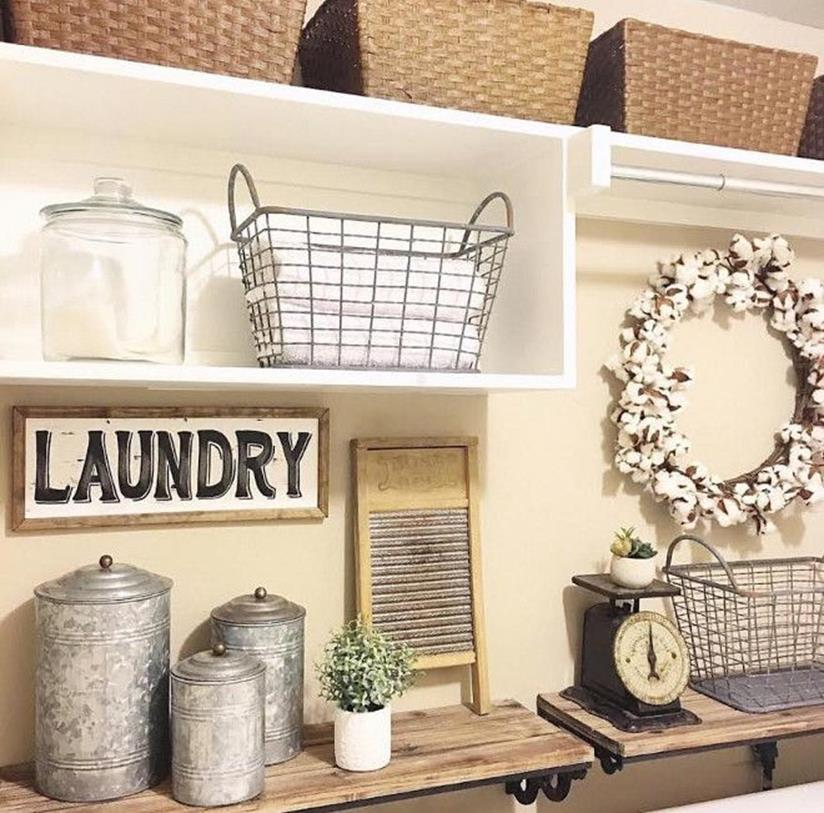 Laundry Room Accessories Decorations Ideas 5