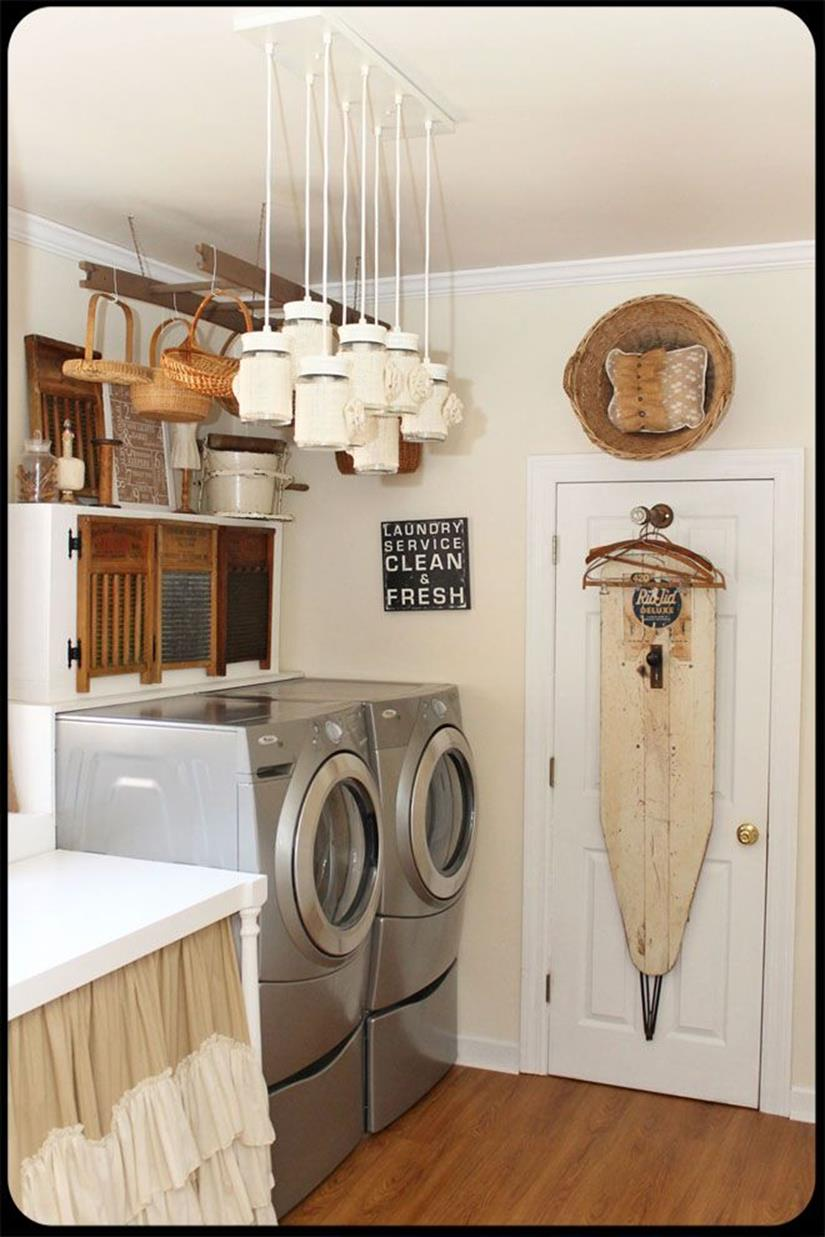 Laundry Room Accessories Decorations Ideas 8