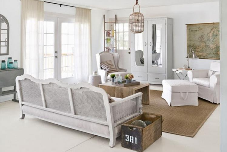 Shabby Chic Living Room Decorating on A Budget 30
