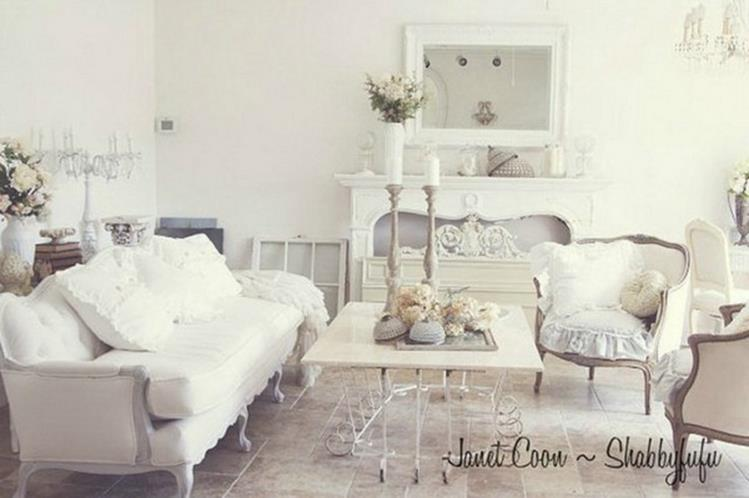 Shabby Chic Living Room Decorating on A Budget 33