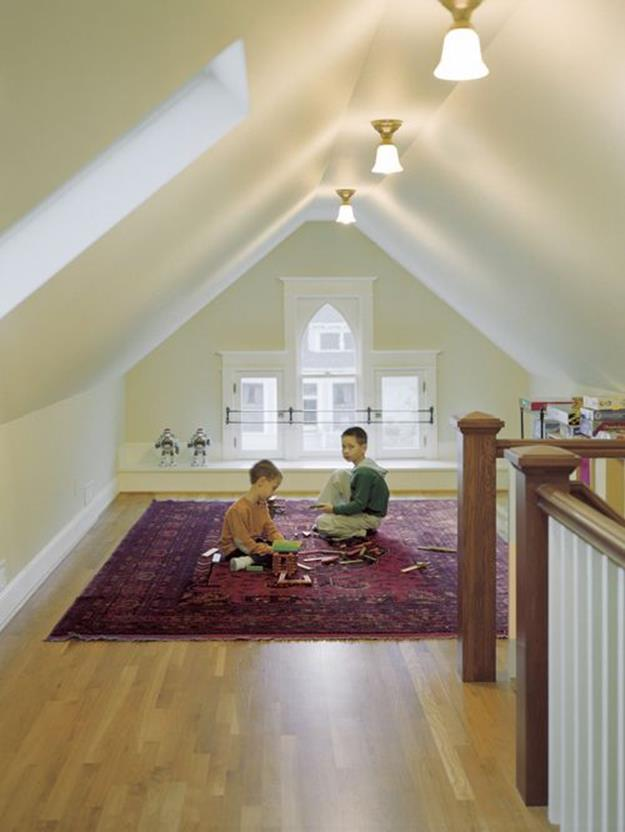 Attic Makeovers Ideas On a Budget 12