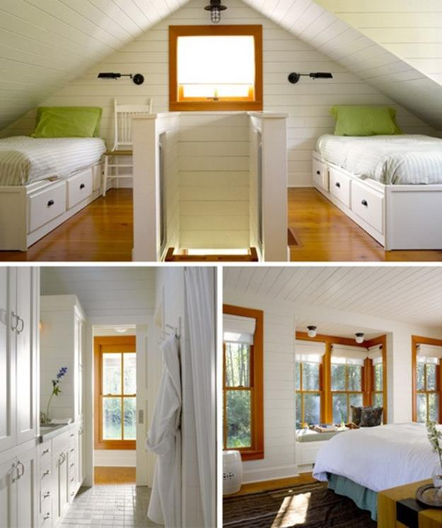 Attic Makeovers Ideas On a Budget 13