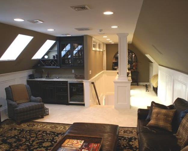 Attic Makeovers Ideas On a Budget 16
