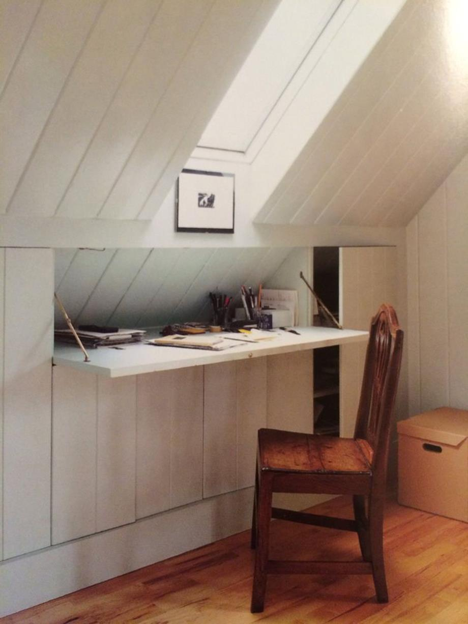 Attic Makeovers Ideas On a Budget 34
