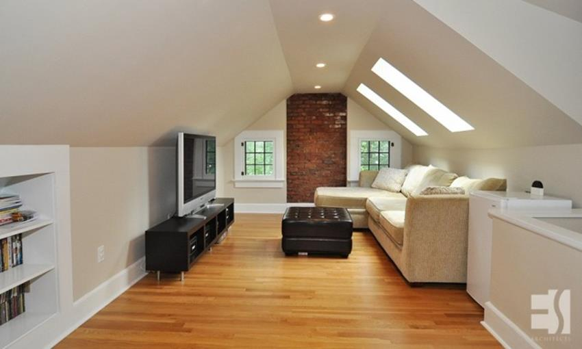 Attic Makeovers Ideas On a Budget 35