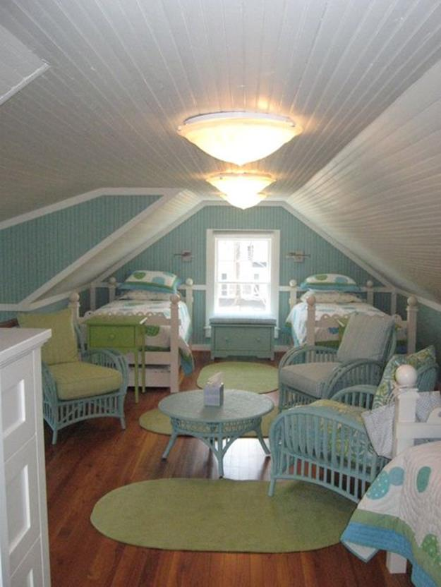 Attic Makeovers Ideas On a Budget 36