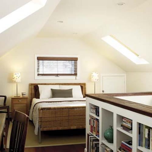 Attic Makeovers Ideas On a Budget 7