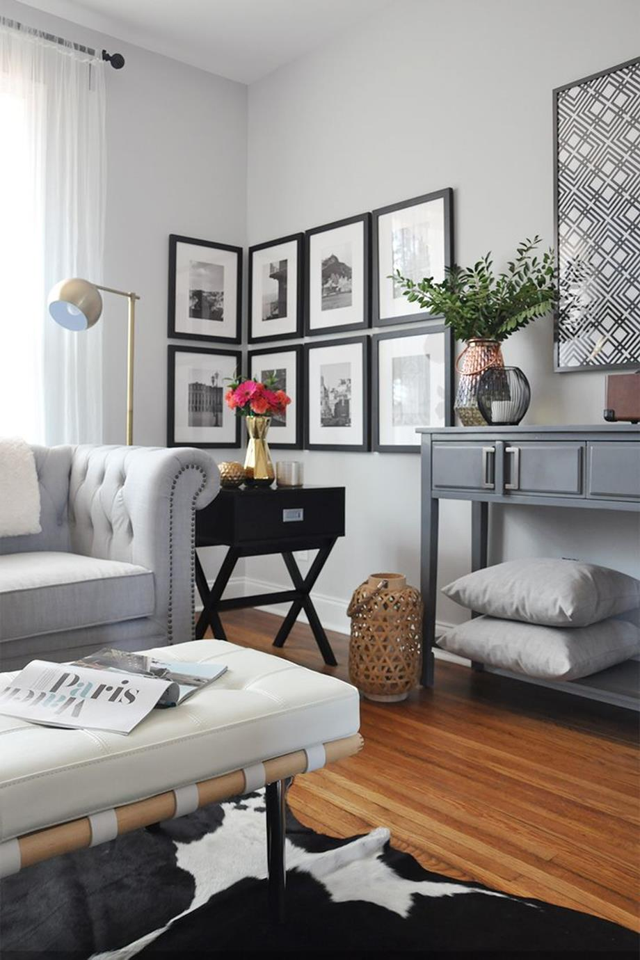 City Chic Living Room Decorating Ideas On a Budget 5