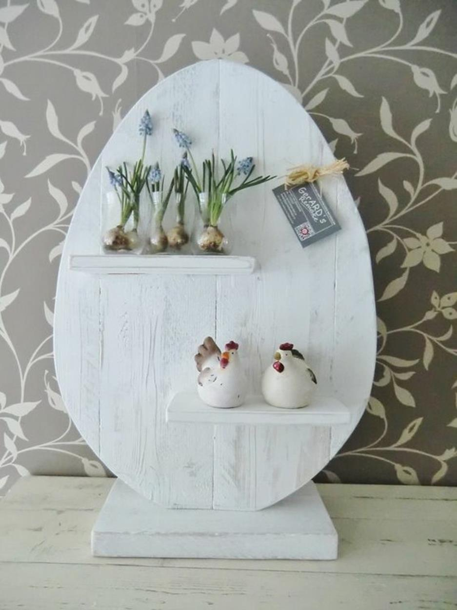 Cute Wooden Easter Decorations for the Outside 15