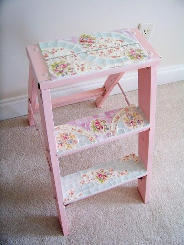 Inexpensive Shabby Chic Craft Table Ideas 17