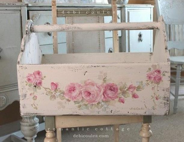 Inexpensive Shabby Chic Craft Table Ideas 20