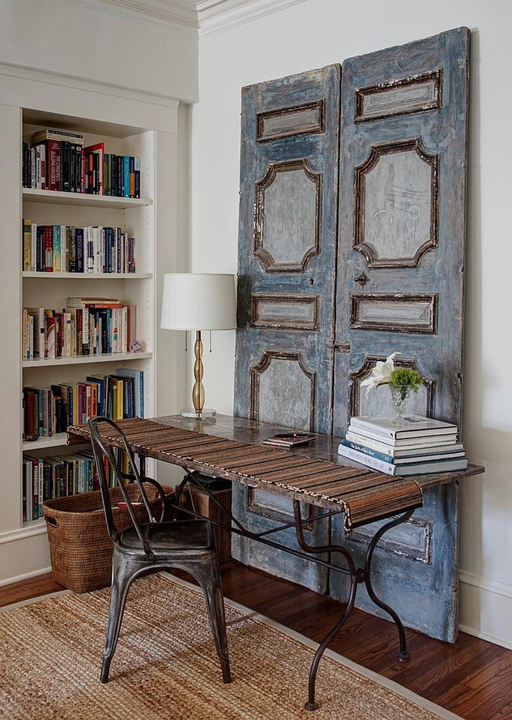 Inexpensive Shabby Chic Craft Table Ideas 49