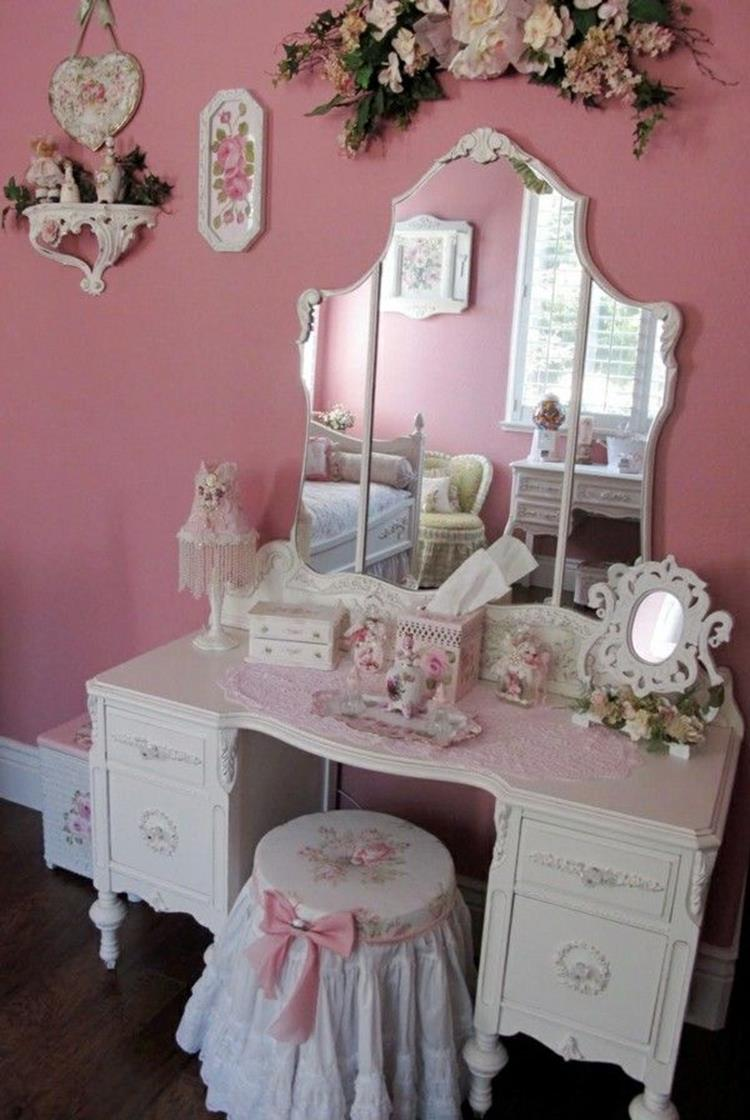 Inexpensive Shabby Chic Craft Table Ideas 7
