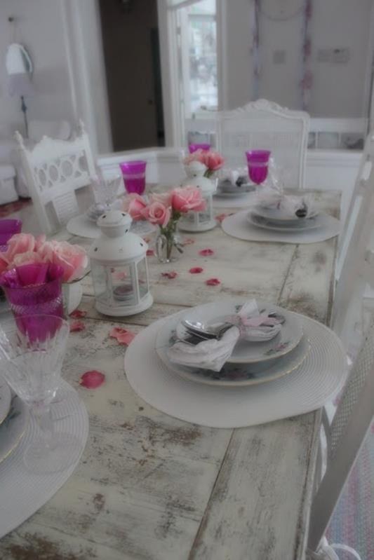 Inexpensive Shabby Chic Craft Table Ideas 8