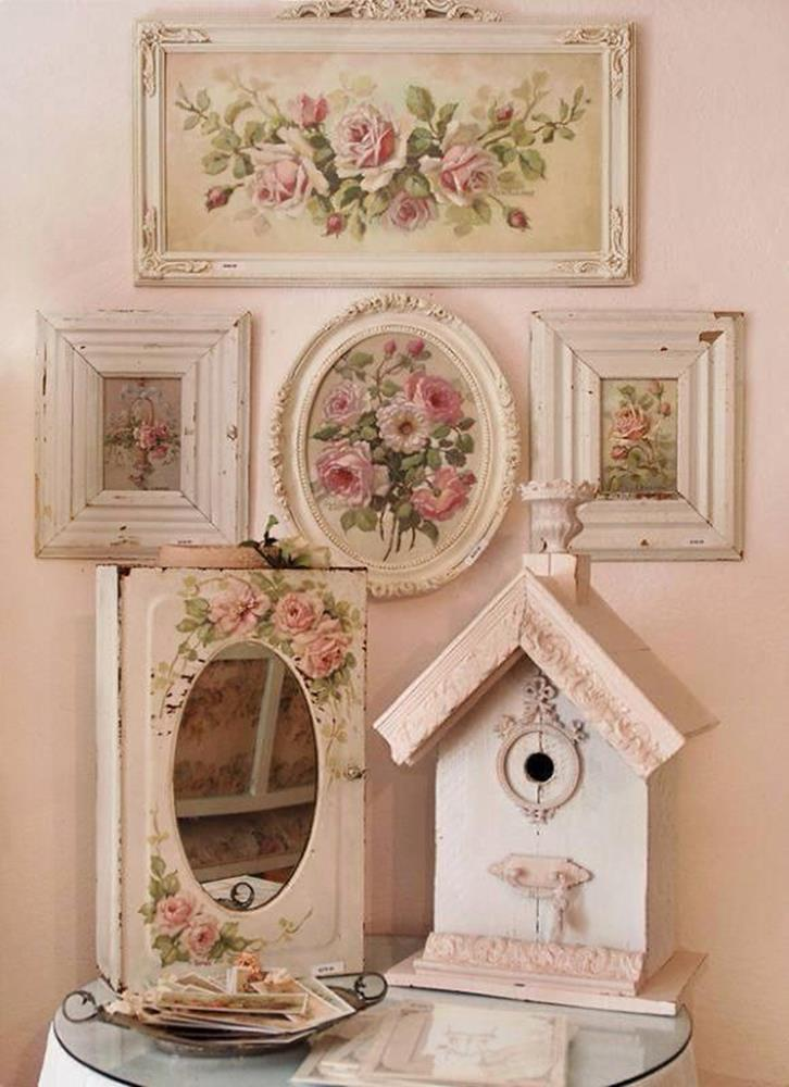 Shabby Chic Kitchen Wall Decorating Ideas 25