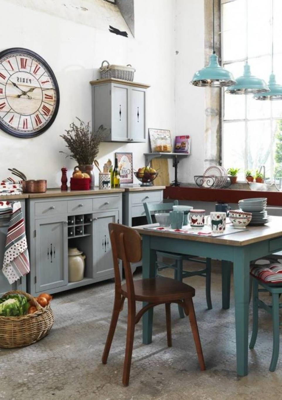 Shabby Chic Kitchen Wall Decorating Ideas 4