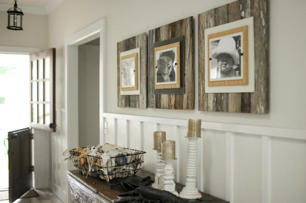 Wooden Picture Frame Decorating Ideas 13
