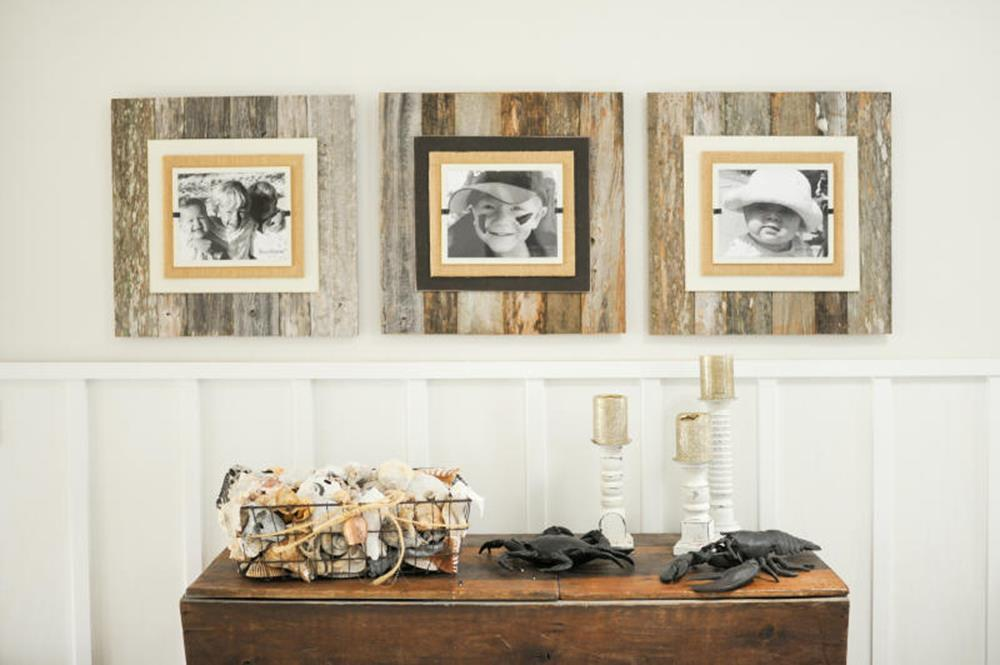 Wooden Picture Frame Decorating Ideas 14