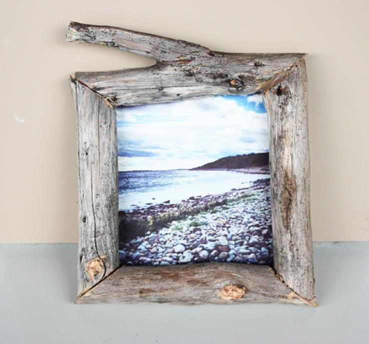 Wooden Picture Frame Decorating Ideas 19