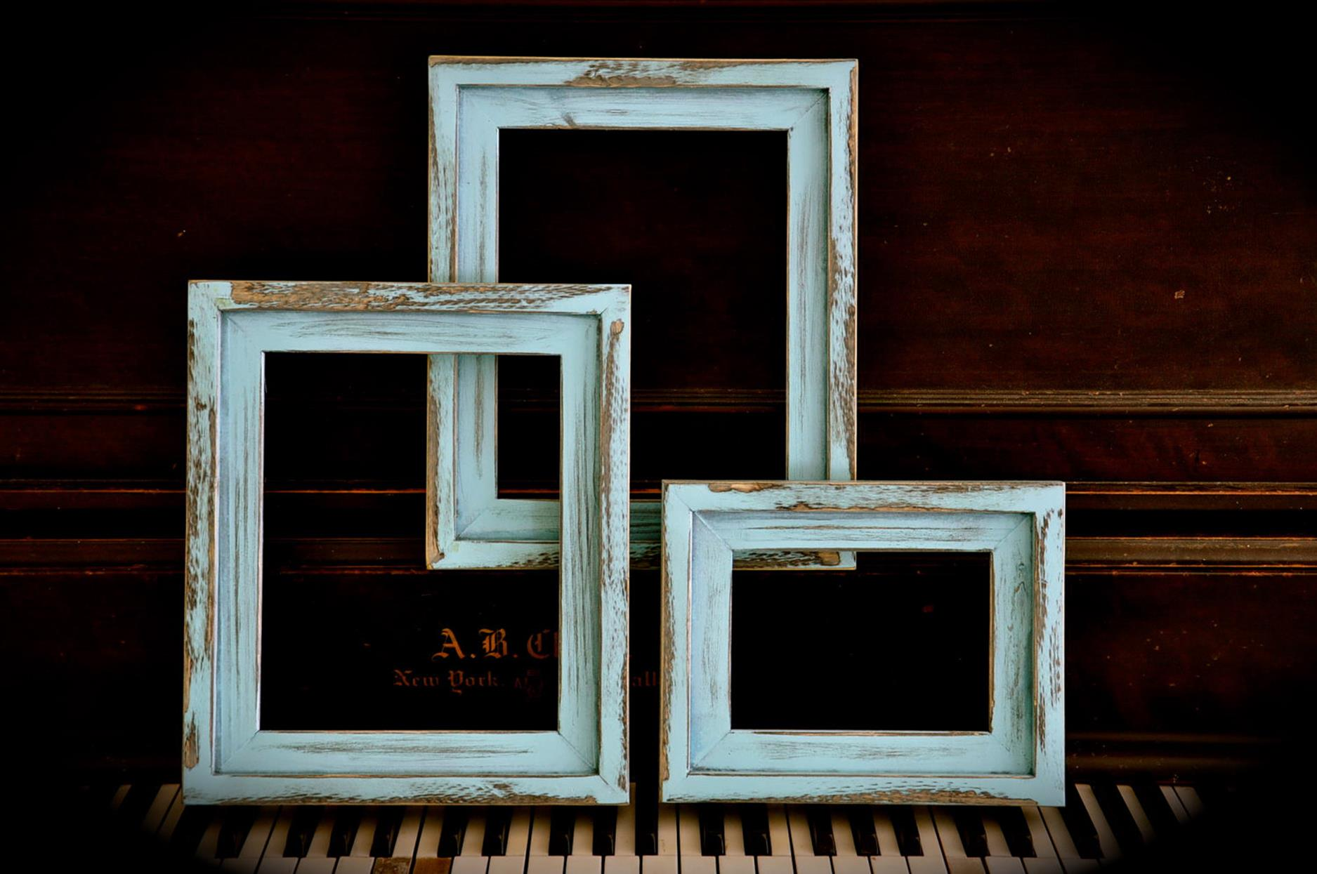Wooden Picture Frame Decorating Ideas 28