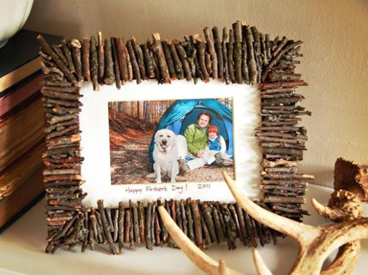 Wooden Picture Frame Decorating Ideas 31