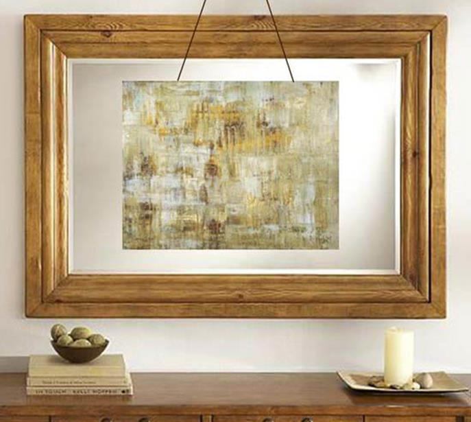 Wooden Picture Frame Decorating Ideas 35