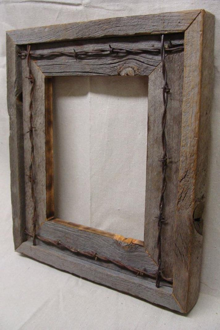 Wooden Picture Frame Decorating Ideas 7