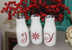 DIY Easy Crafts With Starbucks Glass Bottles Ideas 48